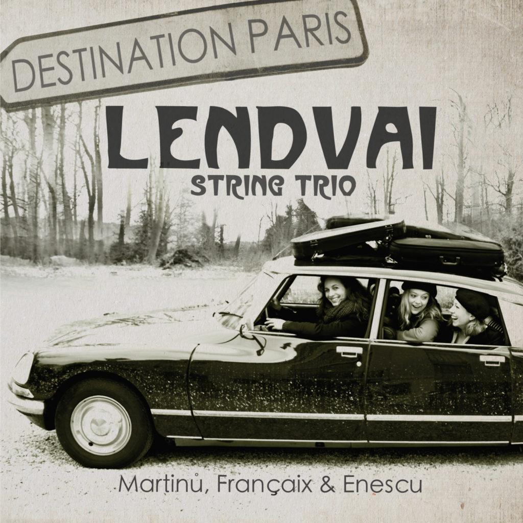 Lendvai String Trio - Martin, Français & Enescu